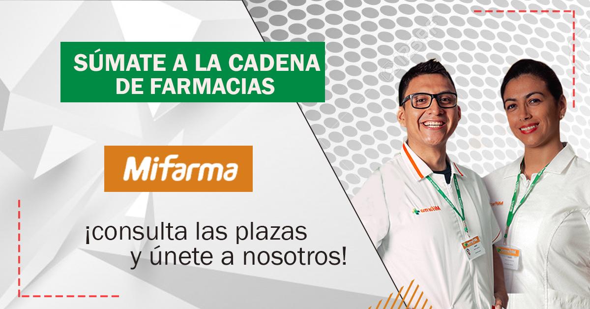 Cadena De Boticas MIFARMA Requiere De Personal A Nivel
